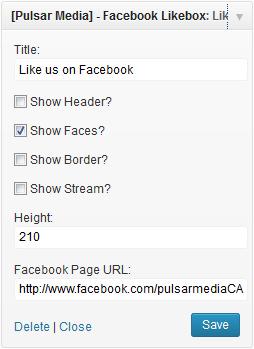 facebook-widget